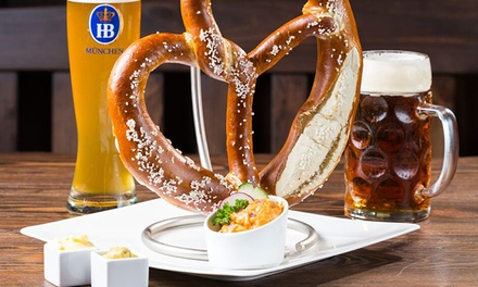 German Dinner for Two or Four with Wine or Beer at Bavaria Haus (Up to 35% Off)