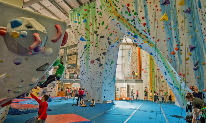 Central Rock Gym - Worcester: One-Month Rock Climbing Package at Central Rock Gym (Up to 51% Off)
