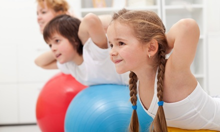 5 Kids' Surfboard Fitness Classes or 5 or 10 Toddler Classes at Kids and Fitness (61% Off)