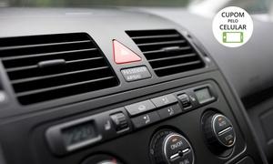 Primos Film: Primos Film – Glória: higienização do ar-condicionado + troca de filtros (opção com carga de gás)