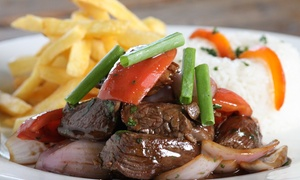 Hacienda Latin Restaurant: Up to 40% Off Full Meal  at Hacienda Latin Restaurant