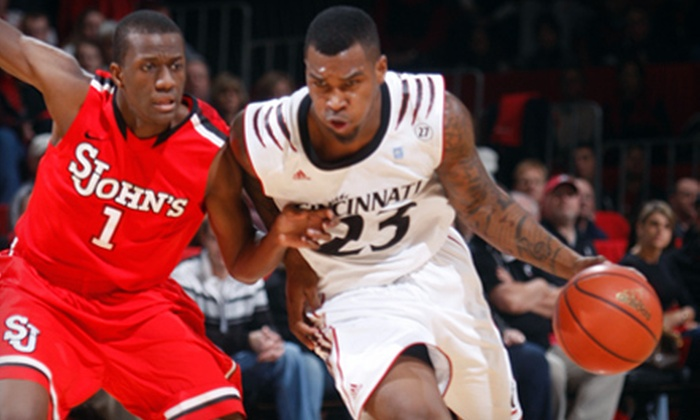 Cincinnati Bearcats Basketball - Cincinnati: Cincinnati Bearcats Basketball with a Men's Game for Two and a Women's Game for Four at Fifth Third Arena ($84 Value)