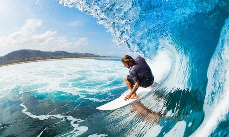 Bautismo o clases de surf para dos con reportaje fotográfico desde 29,90 € enThe Surf Home, 4 opciones disponibles