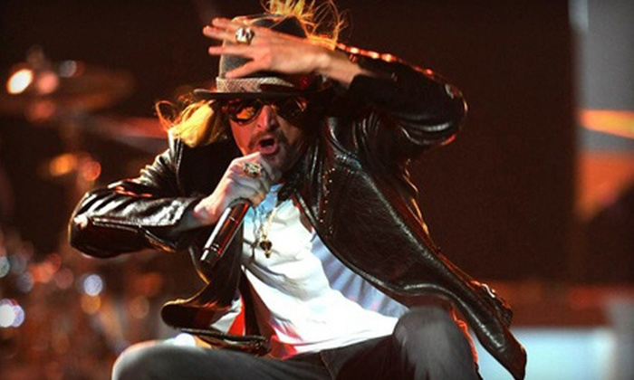 """Kid Rock """"Rebel Soul"""" Tour - Downtown: $30 to See Kid Rock's Rebel Soul Tour at Pensacola Bay Center on February 20 at 7 p.m. (Up to $59.90 Value)"""