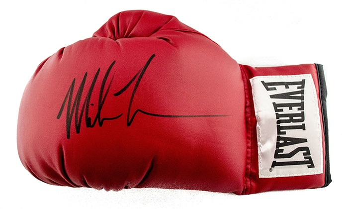 Sideline Marketing & Sports Memorabilia - The Marketplace at Vernon Hills: Mike Tyson–Signed Items at Sideline Marketing & Sports Memorabilia (Up to 54% Off). Four Options Available.