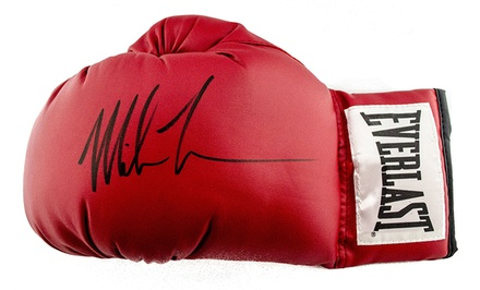 Mike Tyson–Signed Items at Sideline Marketing & Sports Memorabilia (Up to 54% Off). Four Options Available.