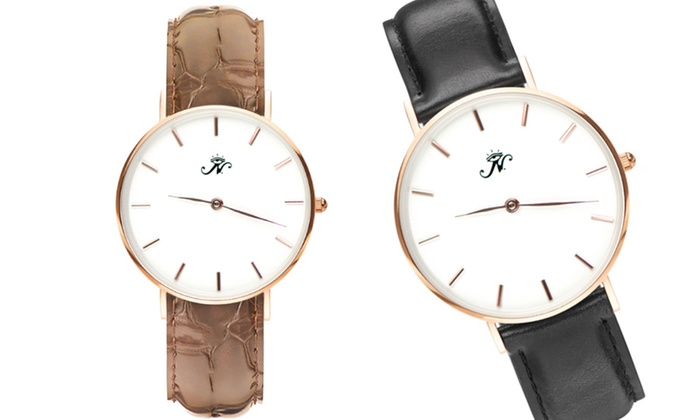 Joseph Nogucci: One or Two Custom Engraved Watches from Joseph Nogucci (Up to 55% Off)