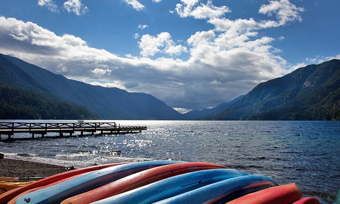 Lake Crescent Lodge - Olympic National Park, WA: 1- or 2-Night Stay for Two at Lake Crescent Lodge in Olympic National Park, WA. Combine Up to 4 Nights.