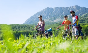 Challenge Unlimited - Pikes Peak by Bike: Morning Bike Tour for One or Two with Equipment and Meals (Up to 66% Off)