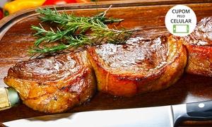Churrascaria Ataliba: Churrascaria Ataliba –Saco Grande: rodízio de carnes com sobremesa para 2 pessoas