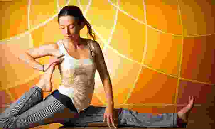 Divinitree Yoga and Art Studio - Santa Barbara Downtown: Five Yoga Classes or One Month of Unlimited Yoga at Divinitree Yoga and Art Studio (Up to 81% Off)