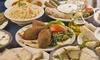 Assortiment de mezzés libanais à partager