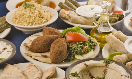 Mezze Plates with Cocktails for Two or Four at The Med Bar