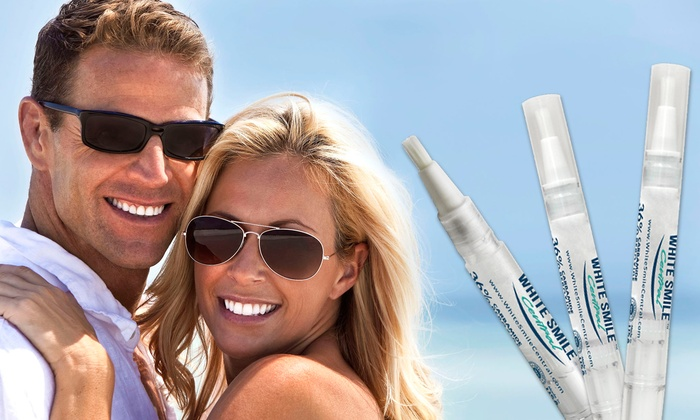 White Smile Central: $18 for Three Teeth-Whitening Pens from White Smile Central ($89.85 Value)