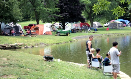 $45 for Two Nights of Primitive Camping for Four at Clay's Park Resort ($92.20 Value)