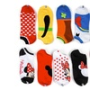 Disney Mickey and Friends Girls' No-Show Socks (10-Pack)