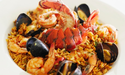 Portuguese and Spanish Dinner for Two or Four with Wine or Sangria at O Lavrador Restaurant & Bar (Up to 49% Off)