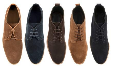 Chaussures en daim pour homme de Woodland Leathers