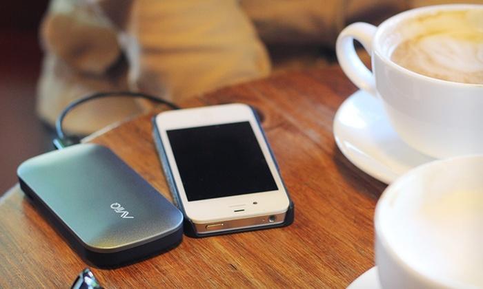 AViiQ 4600mAh Portable Power Bank for Smartphones and Tablets: $34.99 for AViiQ 4600mAh Portable Power Bank for Smartphones and Tablets ($59.99 List Price)