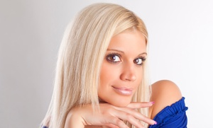 Ego Salon: $74 for Haircut, Blow-Dry Style, and Deep-Conditioning Treatment with Color at Ego Salon ($145 Value)