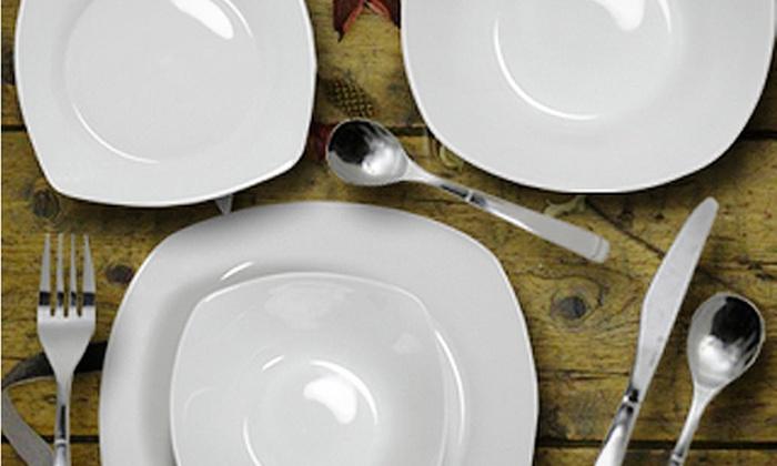 Viners 14 Piece Dinnerware Set Groupon Goods