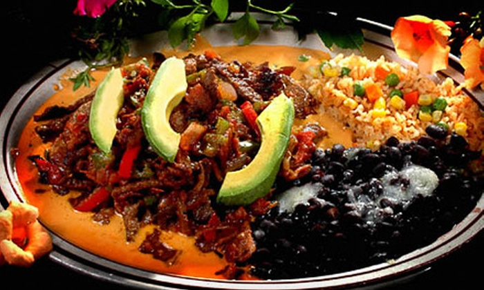 Blue Iguana - Multiple Locations: $10 for $20 Worth of Gourmet Mexican Food and Drinks at Blue Iguana