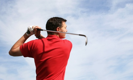 9- or 18-Hole Golf Lesson or 2.5-Hour Putting Lesson at Eric Kaplan School of Golf (Up to 64% Off)
