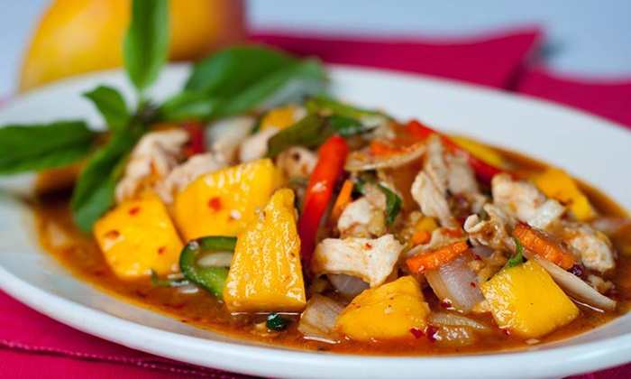 Thai Topaz Castle Hills - Castle Hills: Thai Cuisine at Thai Topaz (Up to 43% Off). Three Options Available.