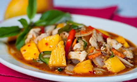 Thai Cuisine at Thai Topaz (Up to 50% Off). Three Options Available.
