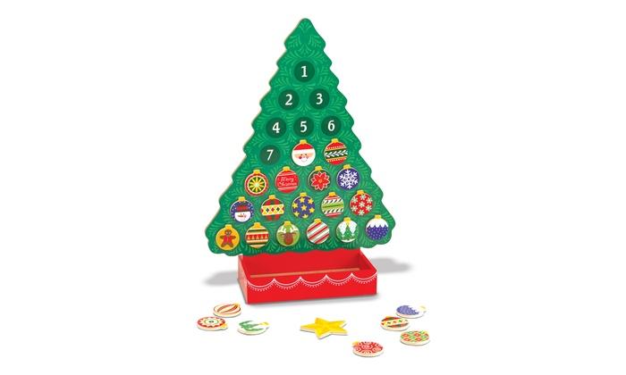 Melissa & Doug Countdown to Christmas Advent Calendar Tree | Groupon