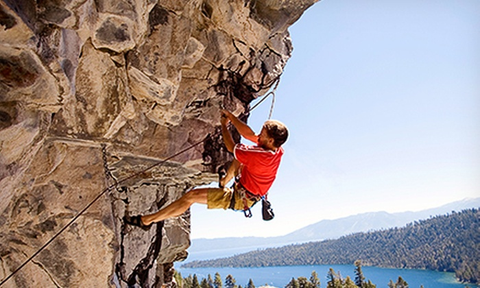 Acadia Mountain Guides Climbing School - Bar Harbor: Half-Day Rock-Climbing Trip for Two or Four from Acadia Mountain Guides Climbing School (Up to 45% Off)