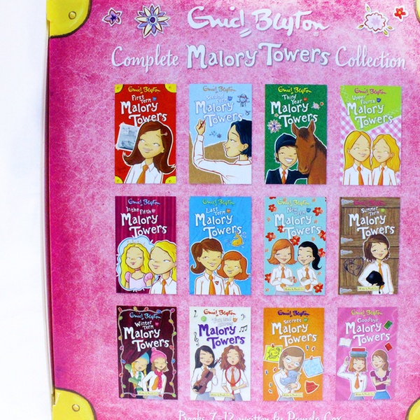 Enid Blyton Complete Malory Towers Collection 12 Books Box Gift Set for  £21 98 (12% Off)