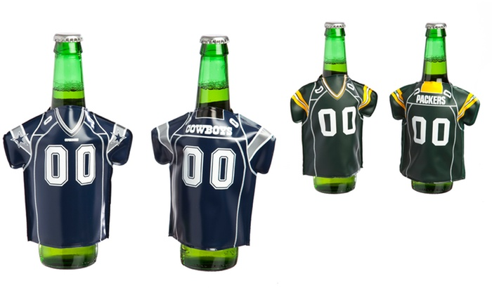 NFL 2PK Bottle Freezer Jackets: NFL Bottle Freezer Jacket 2-Pack. Multiple Designs Available. Free Returns.