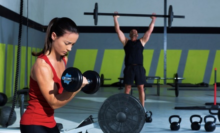 One Month of Unlimited Classes or Two Classes Per Week for One Month at Old Line CrossFit (Up to 74% Off)
