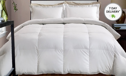 Hotel Grand 800-TC Down-Alternative Comforters with Down-like Polyester Fiber Filling