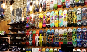 The Vault Skate Boutique: Snowboard & Skateboard Apparel at The Vault Skate Boutique (50% Off). Two Options Available.