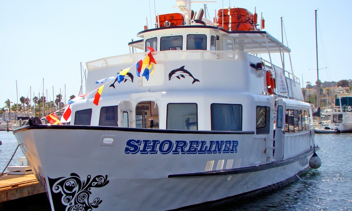 Shoreliner Cruises - Coastal Los Angeles: Narrated Harbor Tour and Nature Cruise for Two or Four from Shoreliner Cruises (Up to 51% Off)