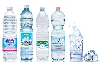 Fino a 8 casse d acqua con consegna for Acqua lauretana a domicilio roma