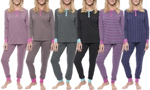 Noble Mount Double Layer Knit Jersey Sleep Sets