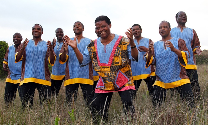 Sweet Honey in the Rock & Ladysmith Black Mambazo - Tobin Center: Sweet Honey in the Rock and Ladysmith Black Mambazo on March 2 at 7:30 p.m.