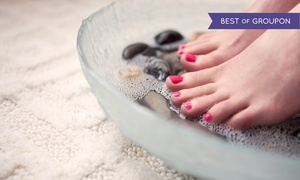 True Grace Spa and Nails: Purissima Organic Spa Pedicure with Optional Reflexology and Massage at True Grace Spa & Nail (Up to 75% Off)