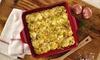 Anolon Vesta Stoneware 9-Inch Square Baking Dish: Anolon Vesta Stoneware 9-Inch Square Baking Dish
