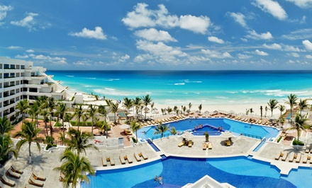 All-Inclusive Stay at Grand Oasis Sens in Cancún, with Dates into December. Includes Taxes and Hotel Fees.