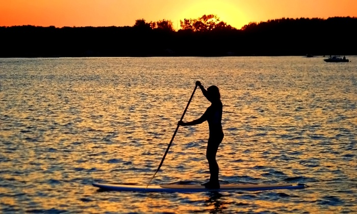 SUP 101 Lakes - Angola: Two 2-Hour Stand-Up Paddleboard Rentals at SUP 101 Lakes in Angola (50% Off). Two Options Available.
