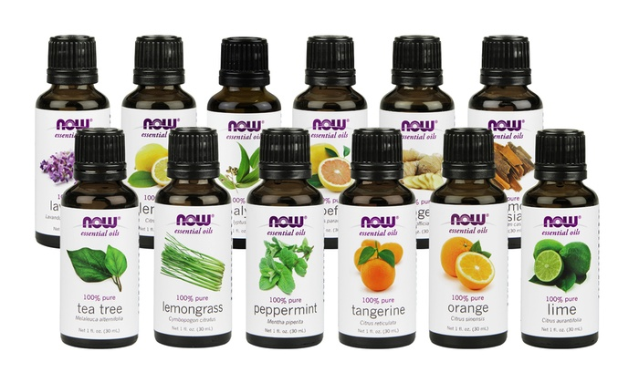 Up To 69% Off on Now Foods Essential Oils 12-Pack   Groupon