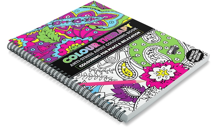 Anti Stress Adult Colouring Books