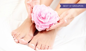 Shepherd Day Spa: Organic Manicure and Spa Pedicure, or a Shellac Manicure and Spa or Deluxe Pedicure at Shepherd Day Spa (Up to 47% Off)
