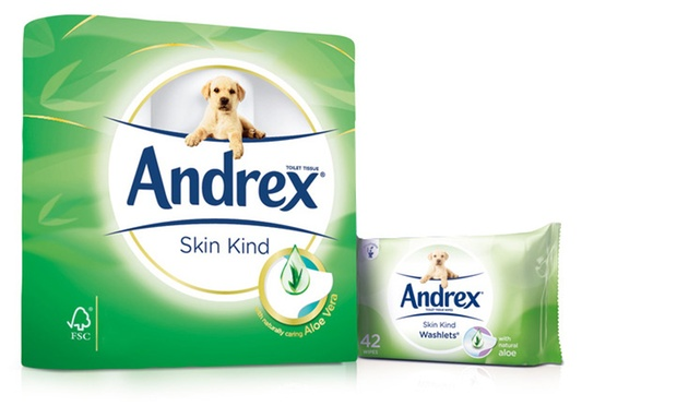 Andrex Toilet Paper And Washlets Groupon Goods
