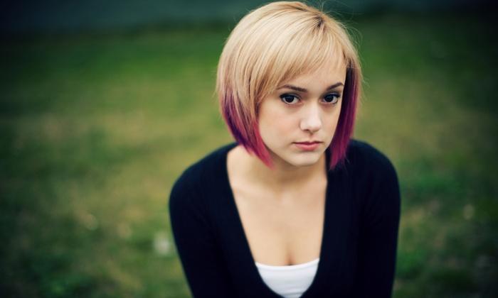 Hairs2U - North Arlington: Haircut and Deep-Conditioning Treatment at Hairs2U (55% Off)