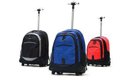 "Olympia USA Delta 19"" Rolling Backpack"